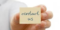 Post-it note contact us